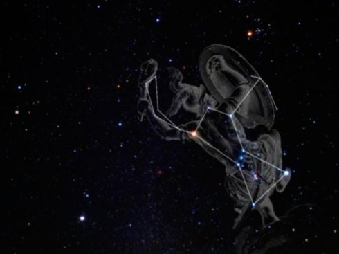 orion constellation art