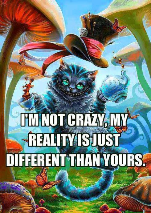 cheshire cat crazy reality