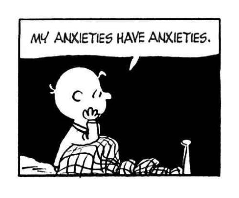 Charlie Brown - Avoidant Personality Disorder (image source)